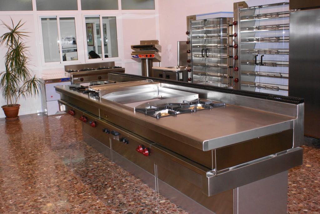 Cocinas para la hostelería en Valencia
