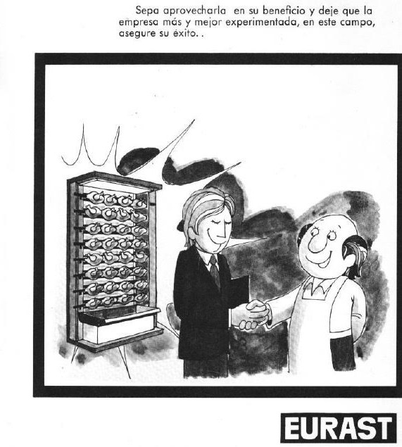 Maquinas de asar pollos Eurast