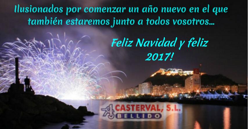 Casterval les desea un próspero 2017